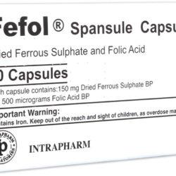 قرص fefol + موارد مصرف و عوارض قرص fefol فیفول