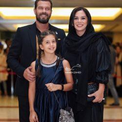 عکسهای پژمان بازغی و همسرش در نوزدهمین جشن حافظ