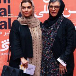 عکسهای رویا تیموریان و دخترش در اختتامیه جشنواره فیلم شهر