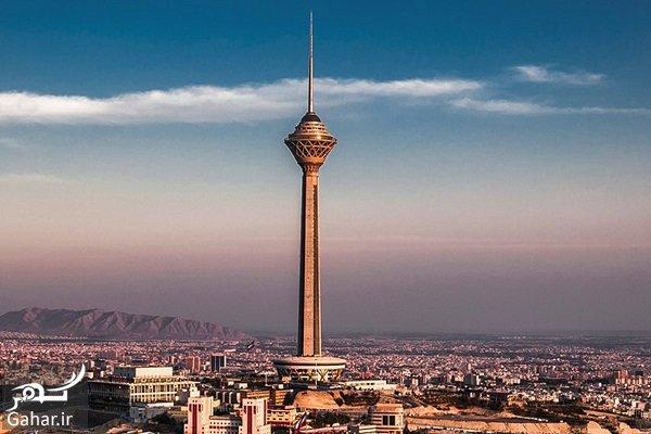 کج شدن برج میلاد بخاطر یک گودال بزرگ!, جدید 1400 -گهر