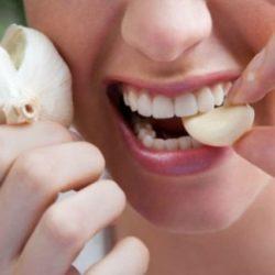 دندان درد با سیر