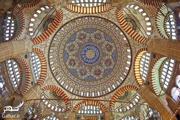salimie mosqe مسجد سلیمیه ترکیه در تور ترکیه سفر باتو