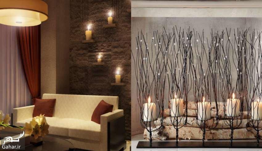www.gahar .ir 09.05.98 3 خلاقیت ها و ایده های جدید برای دکوراسیون خانه