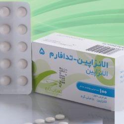 قرص الانزاپین برای چه بیماری است + موارد مصرف و عوارض