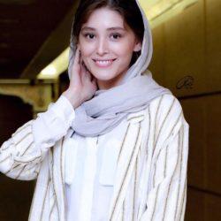 عکسهای فرشته حسینی در بیست و یکمین جشن خانه سینما