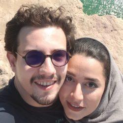 عکس دیدنی امیر کاظمی و همسرش مهتاب محسنی