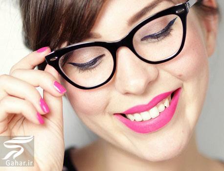 arayesh نکات و اصول آرایش افراد عینکی