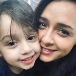 عکس جدید و دیدنی ترانه علیدوستی و دخترش حنا
