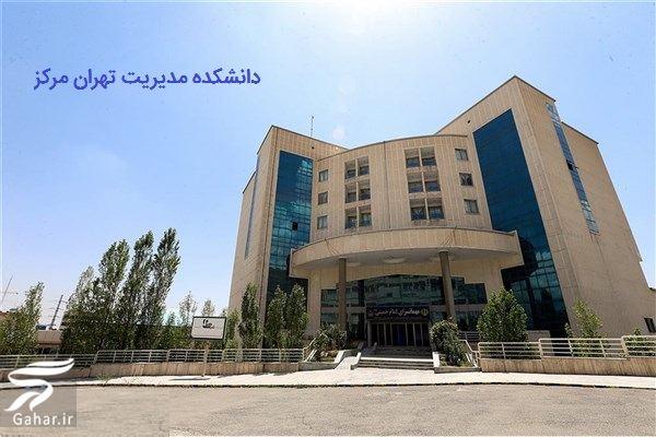 آدرس دانشکده مدیریت تهران مرکز, جدید 1400 -گهر