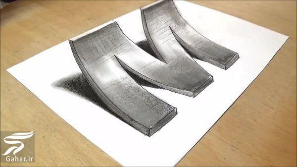 آموزش نقاشی سه بعدی به صورت گام به گام, جدید 99 -گهر