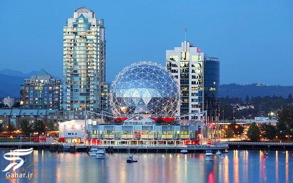 www.gahar .ir 11.06.98 4 جاذبه های گردشگری ونکوور + راهنمای سفر به ونکوور