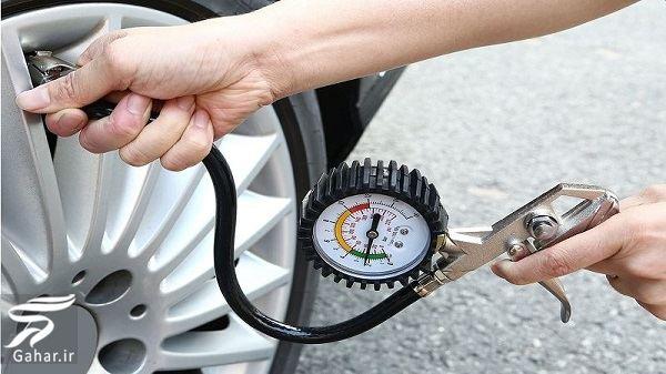 اصول و راهنمای تنظیم باد لاستیک خودرو, جدید 1400 -گهر
