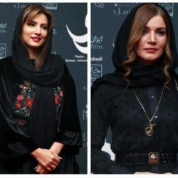 ظاهر جدید متین ستوده و سمیرا حسینی در اکران هزارتو / ۶ عکس
