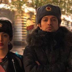 عکسهای جذاب اشکان خطیبی و همسرش در مسکو