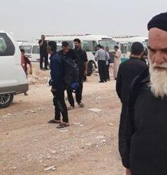 شباهت عجیب یک زائر کربلا به امام خمینی (ره)