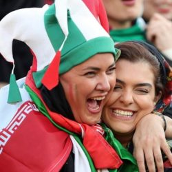 عکسهای دنیا مدنی در استادیوم آزادی