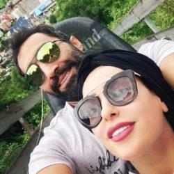 جشن تولد ۳۲ سالگی سمانه پاکدل در کنار همسرش / عکس