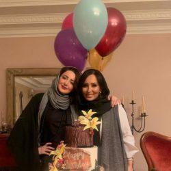 عکسهای جشن تولد ۴۲ سالگی پرستو صالحی
