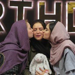 عکسهای جشن تولد مادر هانیه غلامی