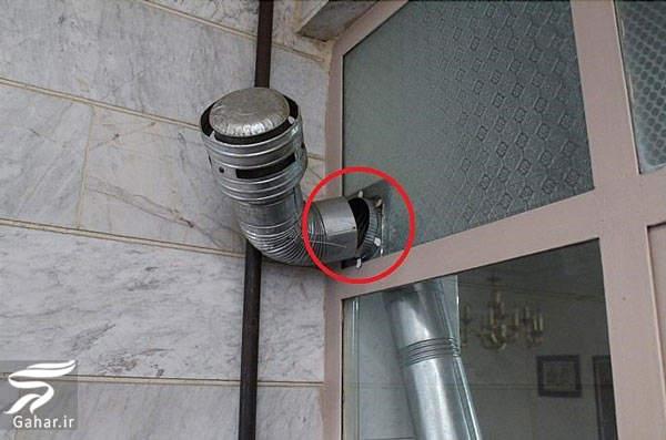 loole bokhari علت و حل مشکل داغ نشدن لوله بخاری در خانه های آپارتمانی