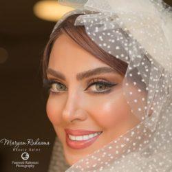 عکسهای دیدنی از عروسی نیلوفر شهیدی به همراه همسرش