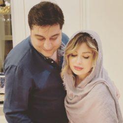 عکسهای نهمین سالگرد ازدواج نیوشا ضیغمی به همراه همسرش