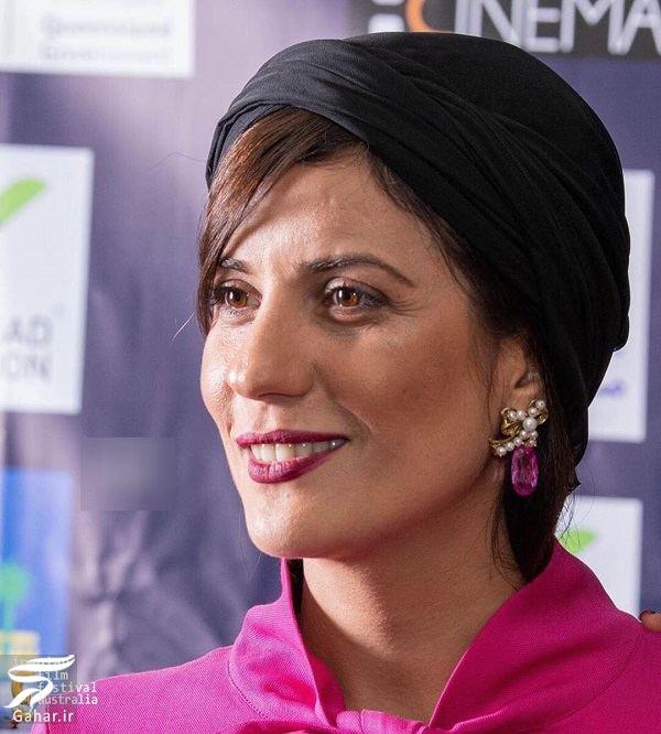 sara bahrami استایل سارا بهرامی در جشنواره فیلمهای ایران استرالیا