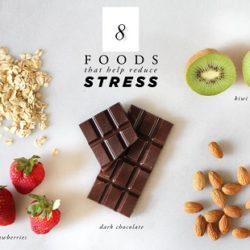 معرفی خوراکی های کاهش دهنده استرس