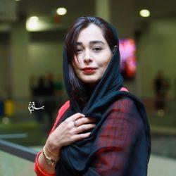 عکسهای سانیا سالاری در اکران خصوصی مطرب
