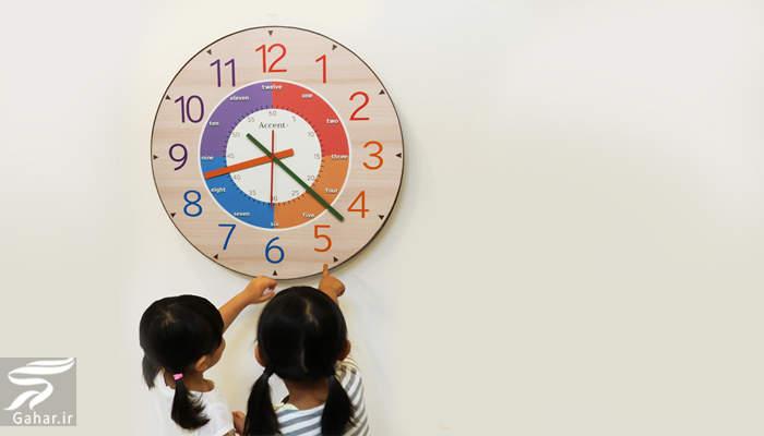 zaman روش های آموزشی مفهوم زمان برای کودکان