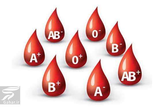 groh khonii رابطه گروه خونی A ،B ،O و AB با سلامت بدن