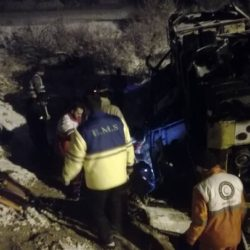 ۴۳ کشته و زخمی در اثر واژگونی اتوبوس تهران گنبد