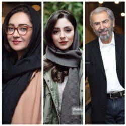 عکسهای بازیگران در روز هفتم جشنواره فجر ۳۸