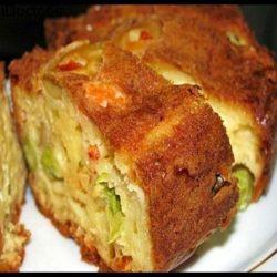 دستور پخت کیک سبزیجات خوشمزه