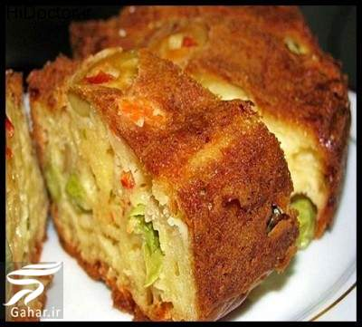 cake sabzigat دستور پخت کیک سبزیجات خوشمزه