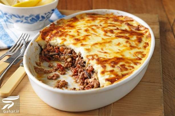 mosakaa دستور پخت موساکا یا گراتن بادمجان