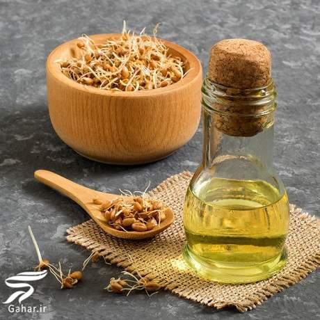 wheat germ oil مهمترین خواص روغن جوانه گندم برای پوست و مو