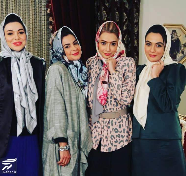92672550 578644409432046 9036852898476274032 n عکس بازیگران زن با تیپ دهه شصت در برنامه بفرمایید شام ایرانی