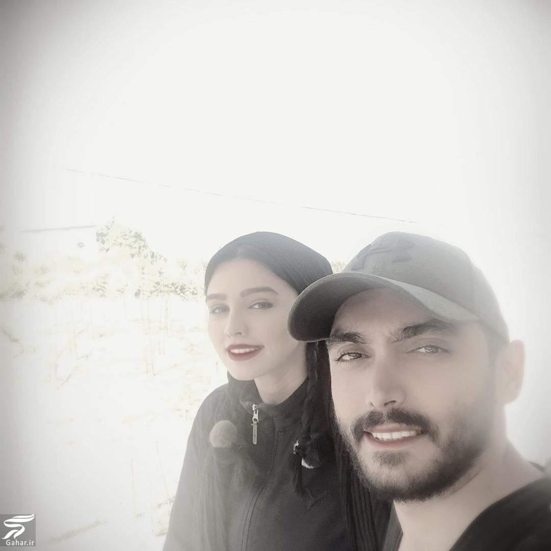 عکس سیما خضرآبادی و همسرش و جمله جالبش خطاب به کرونا!, جدید 1400 -گهر