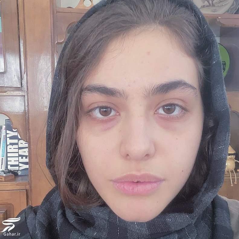 چالش «خودت باش» ریحانه پارسا بدون آرایش + عکس, جدید 1400 -گهر