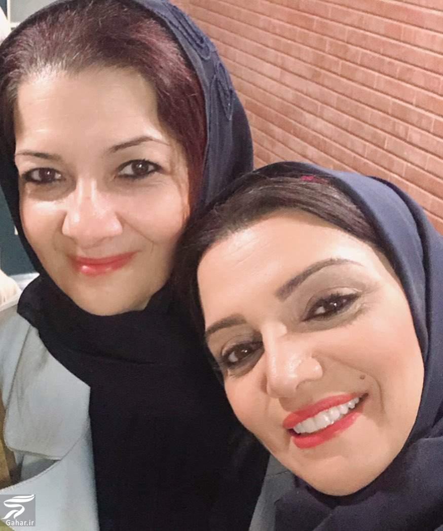 عکس الهام پاوه نژاد و خواهرش به مناسبت روز خواهر و برادر, جدید 1400 -گهر