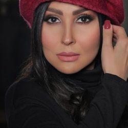چالش بالش پرستو صالحی به سبک سریال های ایرانی / عکس