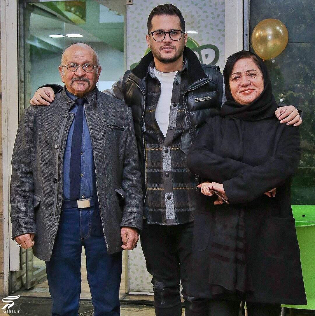 عکس پدر و مادر سیاوش خیرابی و دلتنگی او برای پدر و مادرش, جدید 1400 -گهر