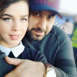 عکس جدید تولد پسر احسان خواجه امیری و همسرش