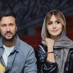 اولین عکس عروسی شاهرخ استخری و همسرش
