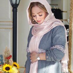 بارداری الهام حمیدی / عکس