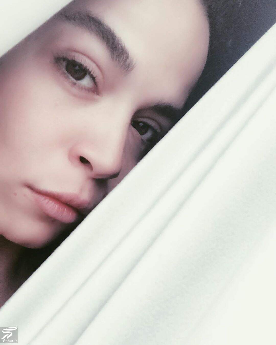 105386724 155538369425629 5145040056145815094 n عکس بدون آرایش ملیکا شریفی نیا با ژست متفاوت
