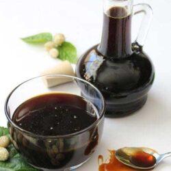 مهم ترین خواص شیره توت سفید و طرز تهیه آن