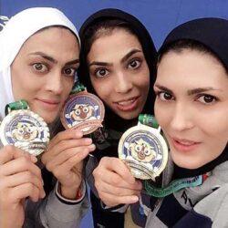 تیپ متفاوت خواهران منصوریان با آرون افشار / عکس, جدید 99 -گهر