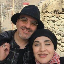 عکسهای رویا نونهالی و همسرش و دخترش